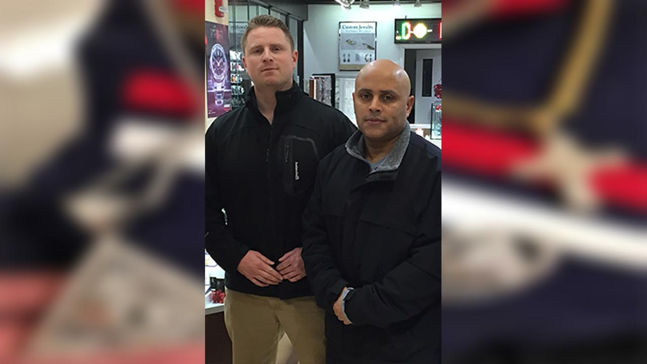 Port Authority Officer James Herkenham and Sergeant Hector Martinez