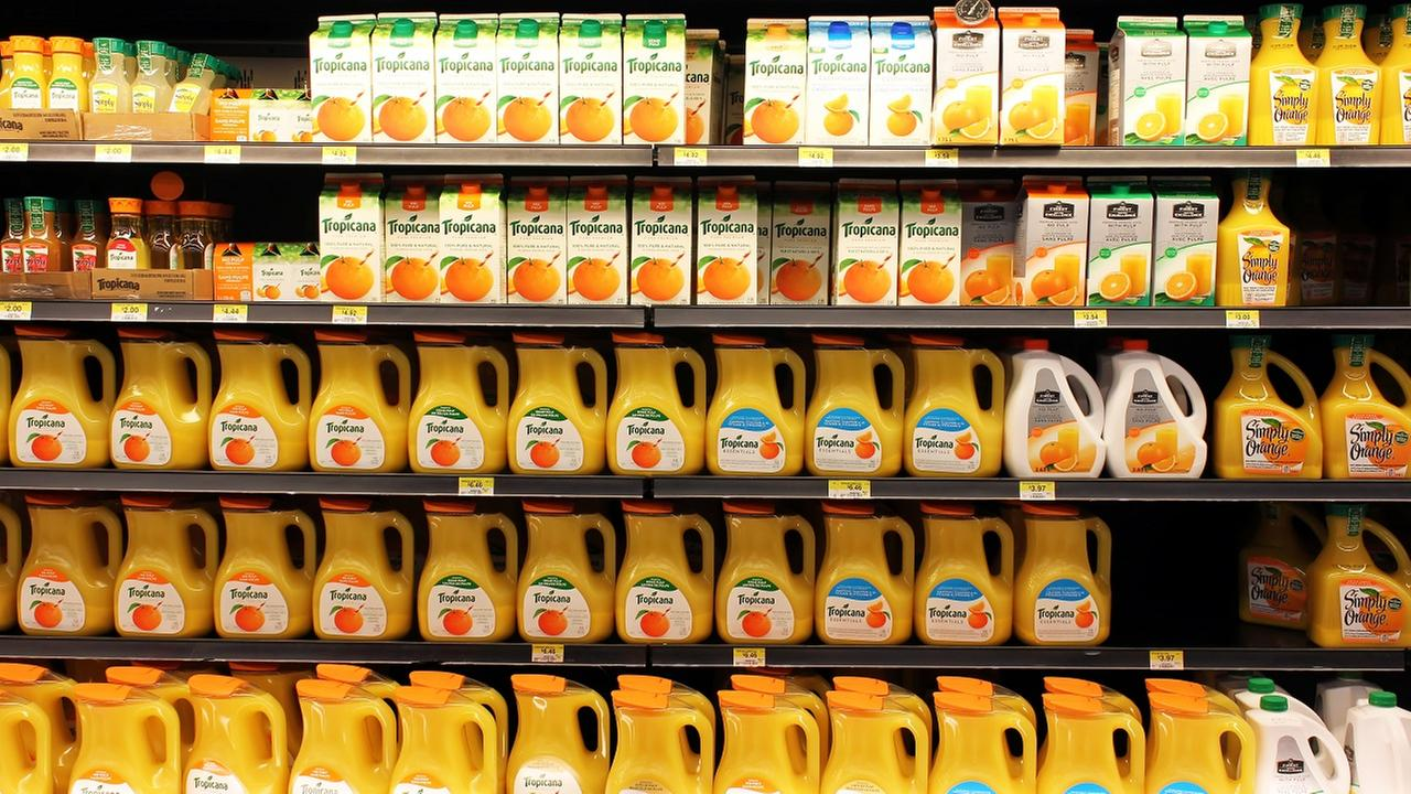 Orange juice sales skyrocket during this year's flu season
