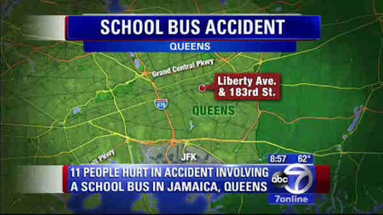 queens school bus accident