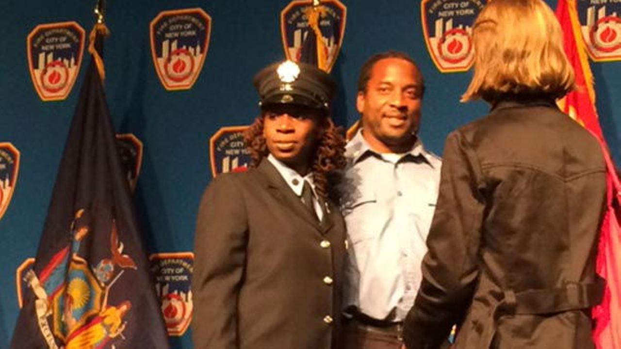 Black woman promoted to FDNY lieutenant, 1st time in 12 years