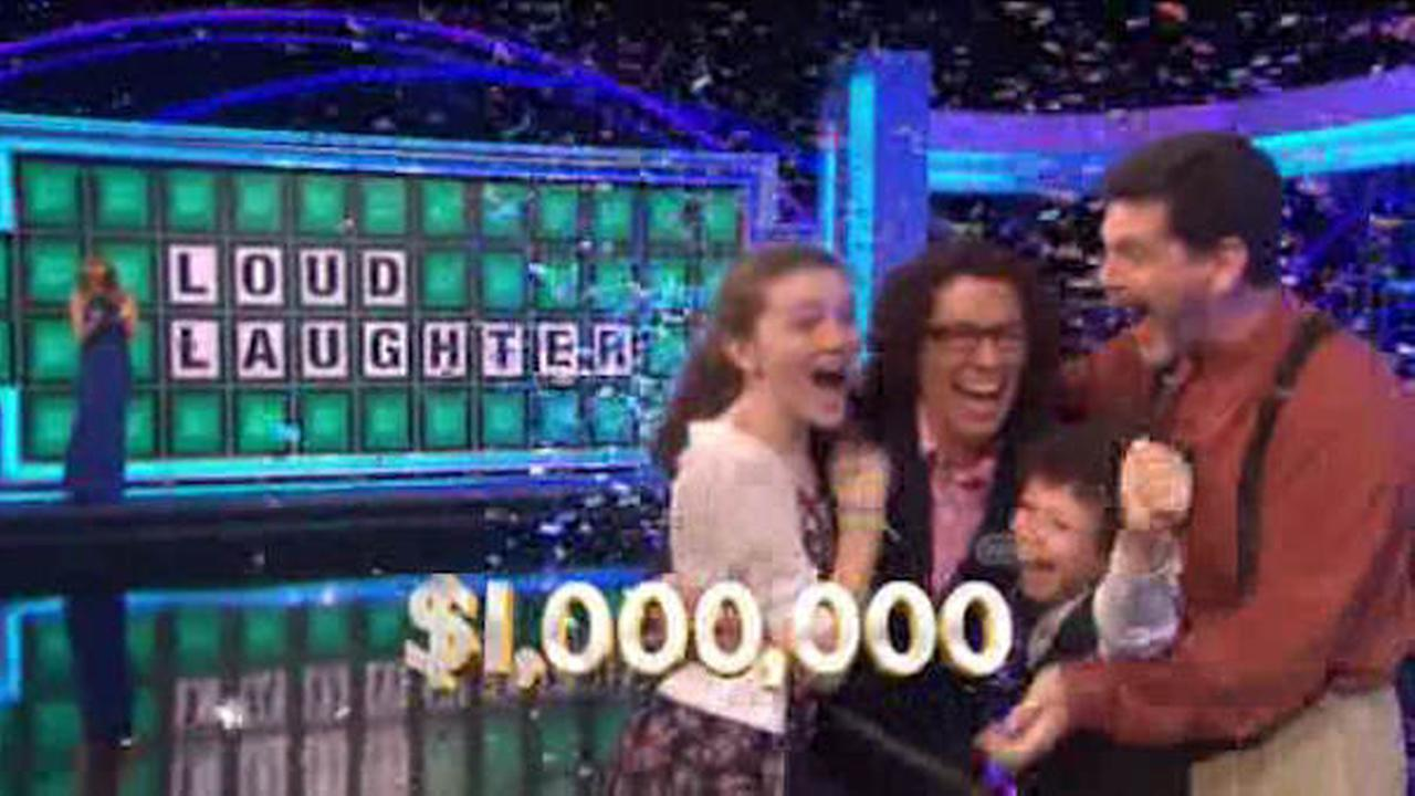 video of wheel of fortune million dollar winner