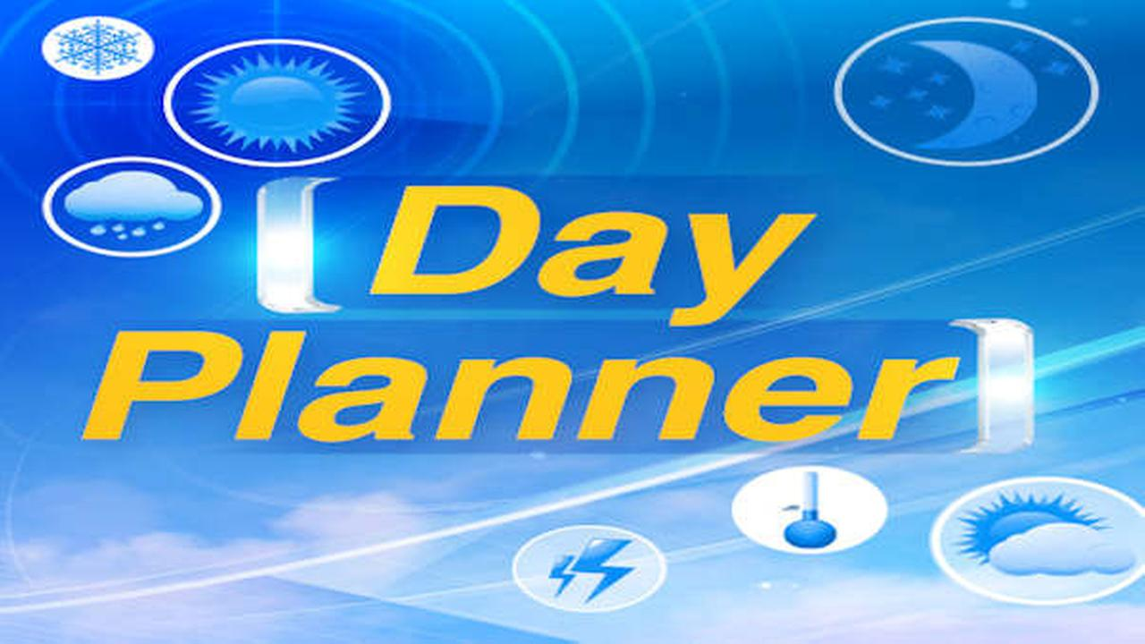 AccuWeather Day Planner: Rainy all day