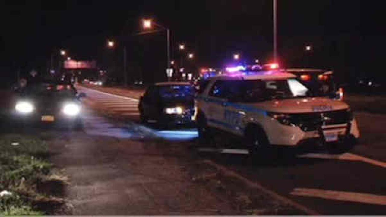 Man struck and killed by two livery cab drivers on Pelham Parkway in Bronx