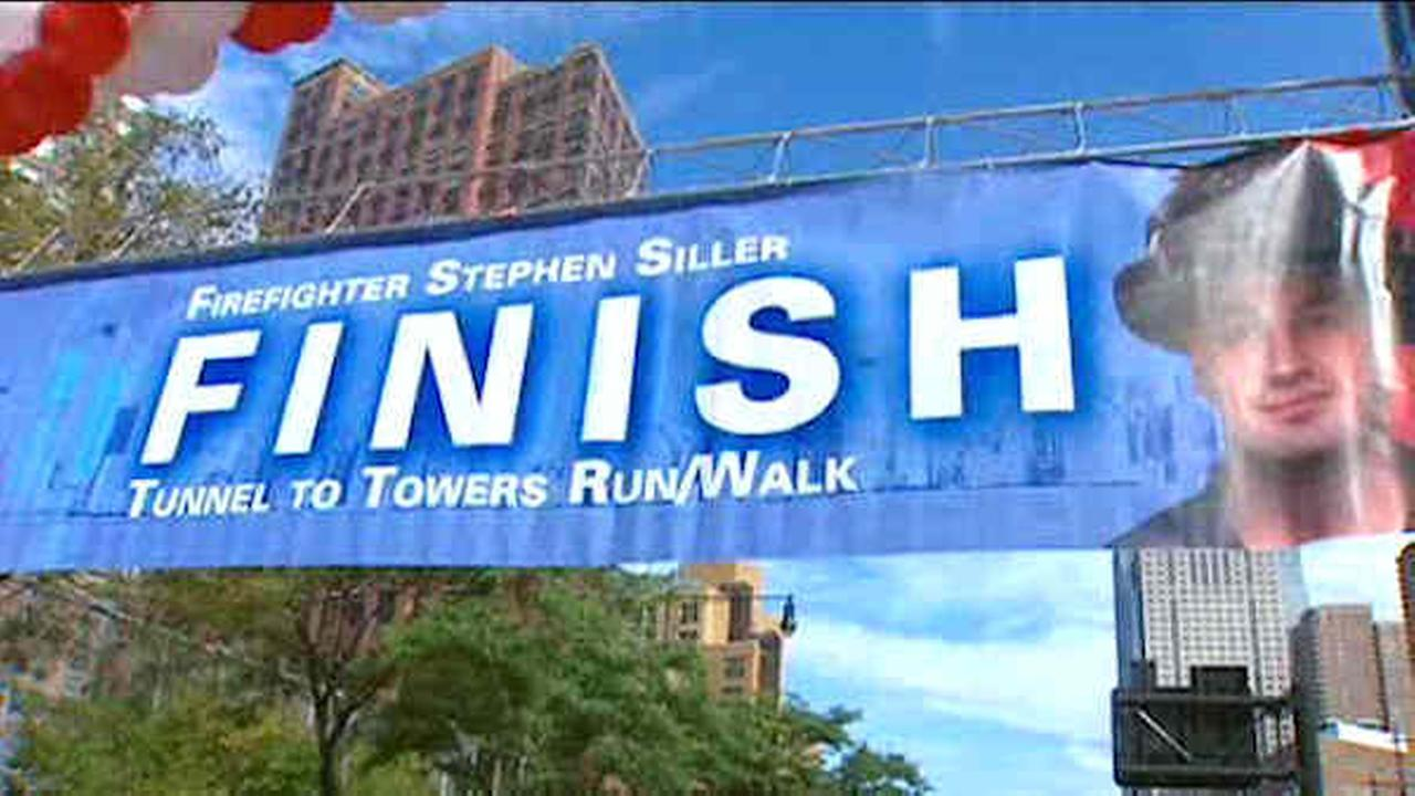 Tunnel to Towers run celebrates New York City's first responders