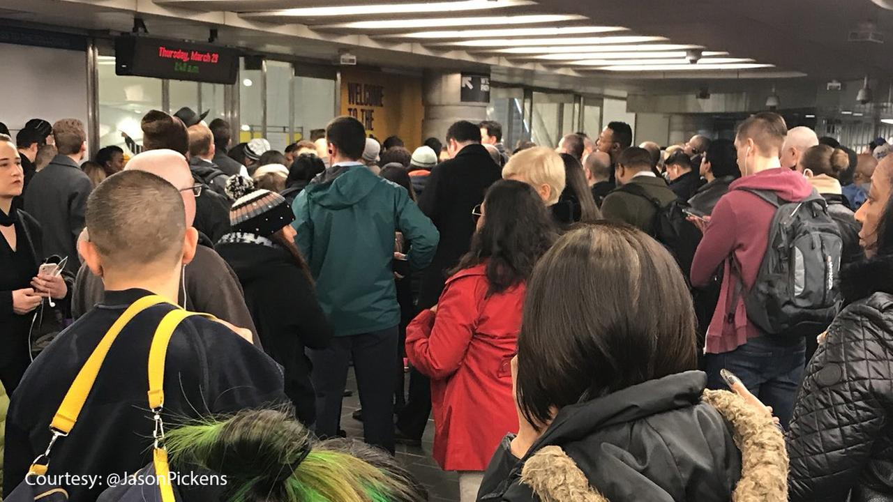 Frustrating commute after WTC Oculus evacuated due to smoke condition