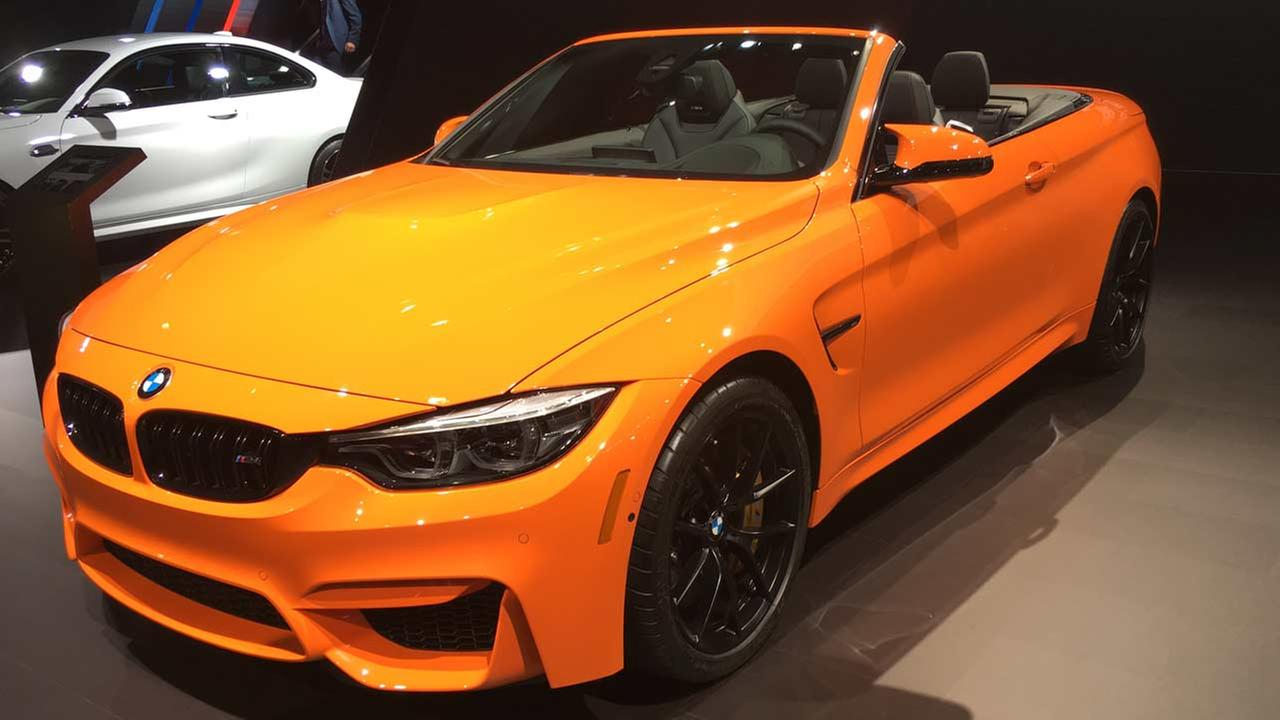 BMW M4 Convertible at the 2018 New York International Auto Show.