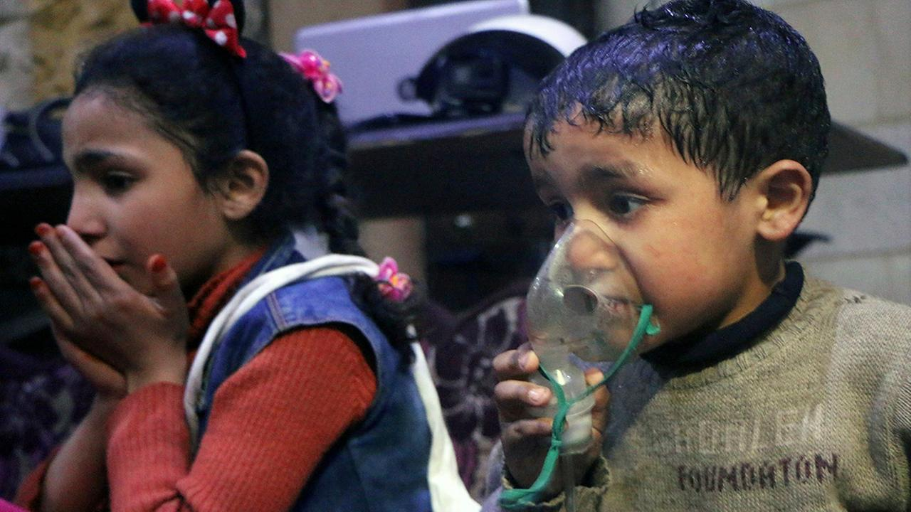 Trump Calls Out Putin After Chemical Weapons Attack In Syria
