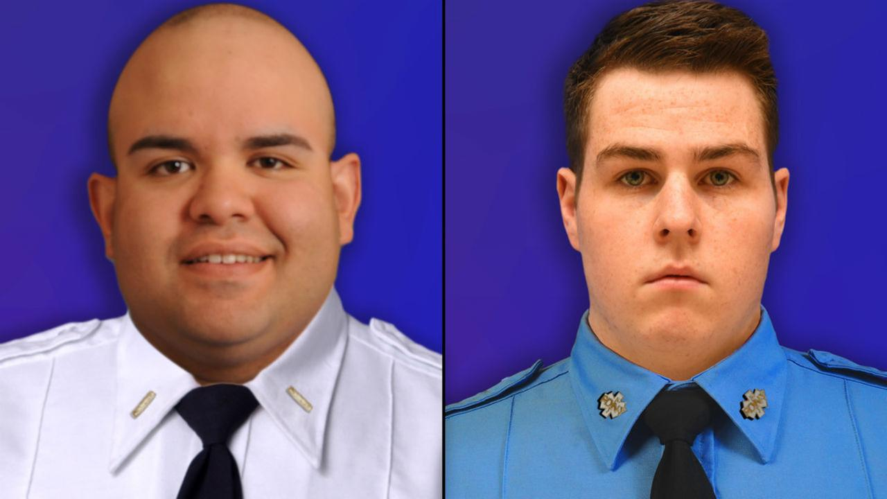 FDNY Lt. Daniel Burgos and FDNY Paramedic Kevin Costello