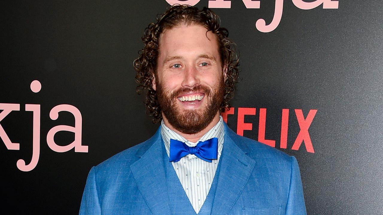 In this June 8, 2017 file photo, actor T.J. Miller attends the premiere of Netflixs Okja in New York.