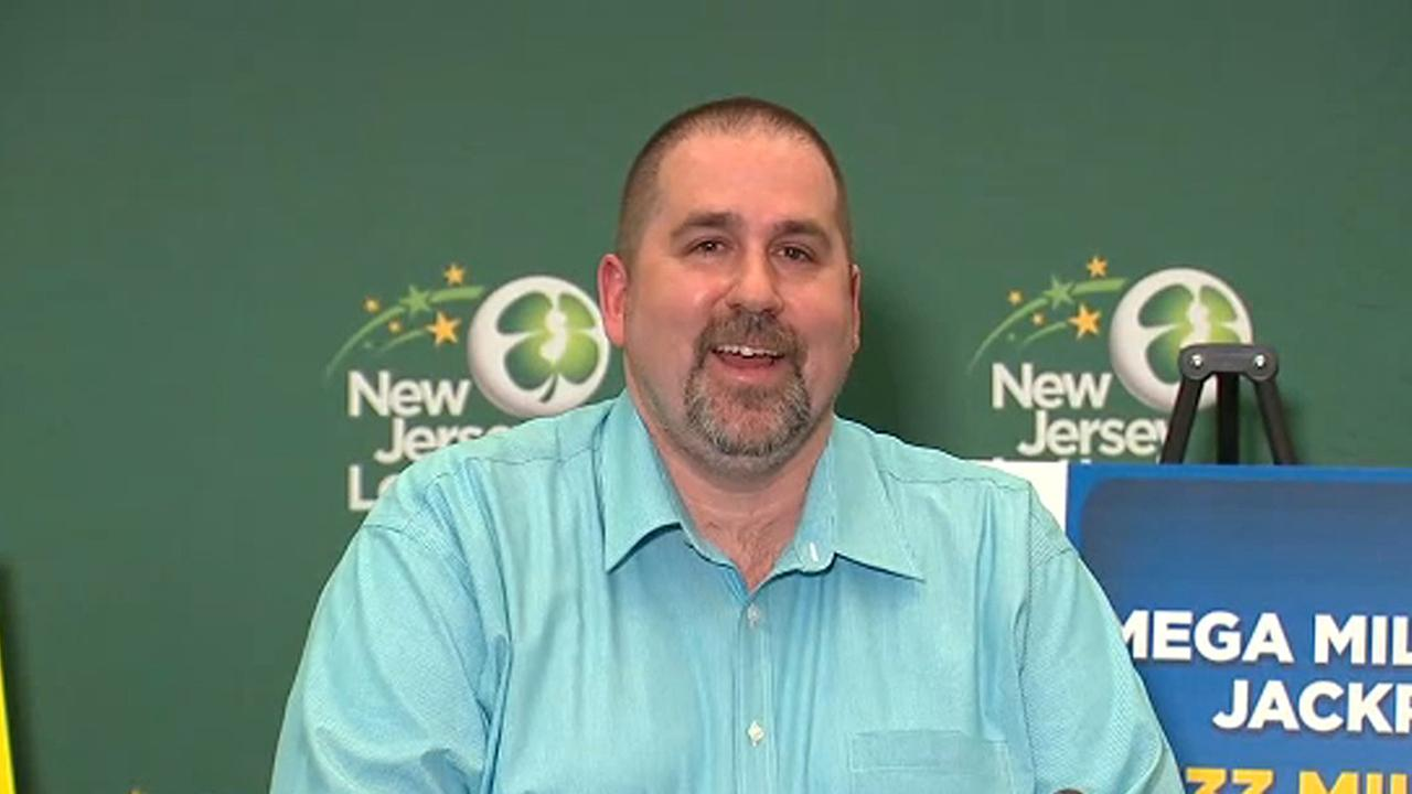 New Jersey man revealed as victor  of $533 million Mega Millions jackpot