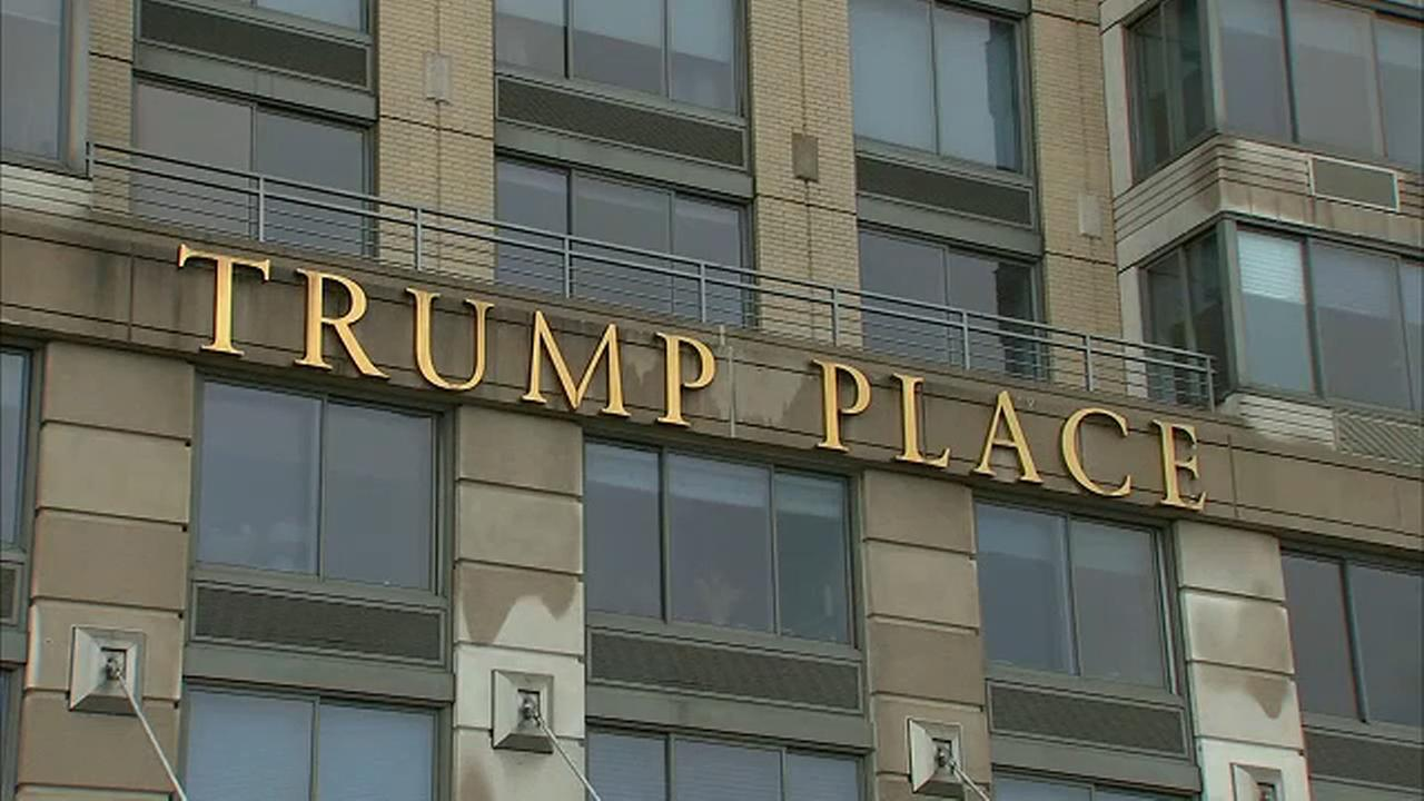Residents of Trump Place head to court to have name of building changed