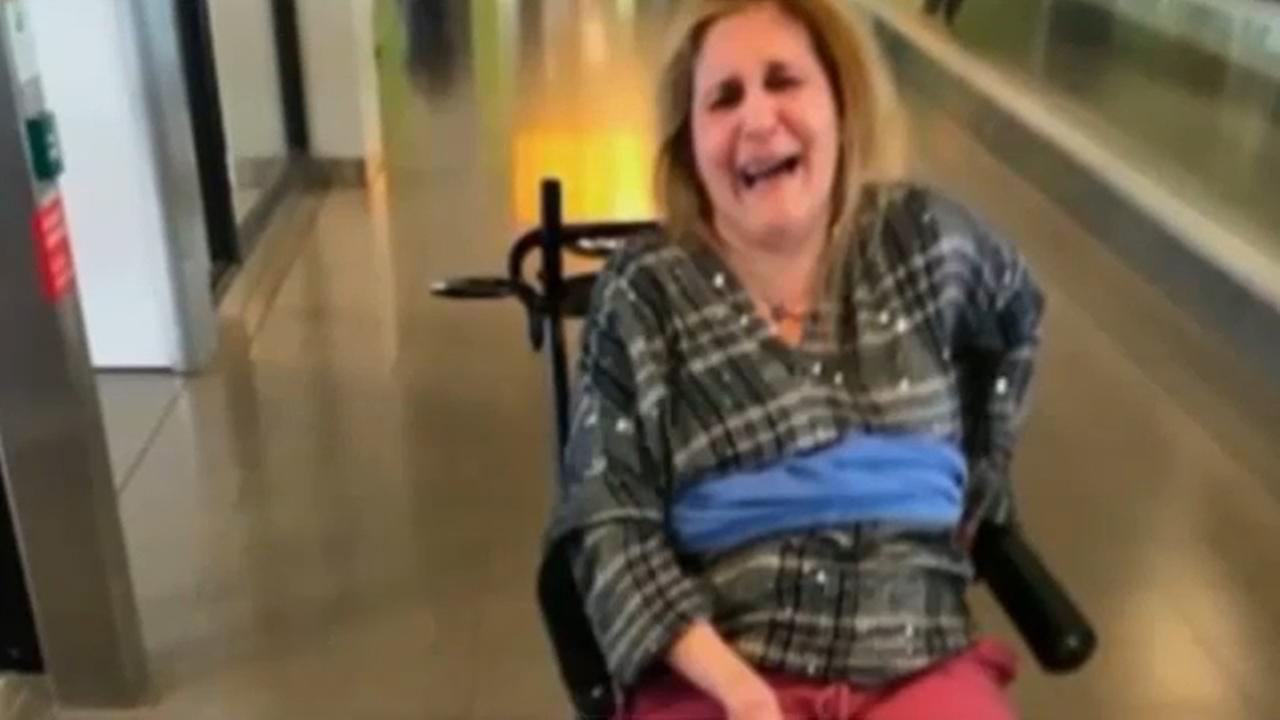 Delta apologizes for tying woman with MS to wheelchair