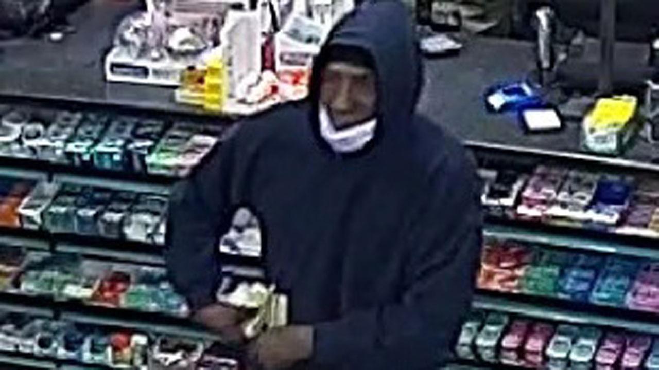 Man wearing surgical mask on Long Island robbing spree