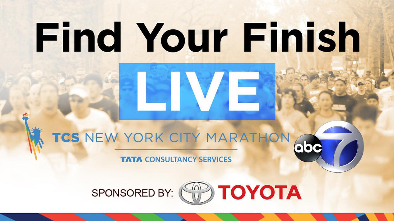 Toyota Find Your Finish on 7online: Watch runners finish the 2014 TCS New York City Marathon!