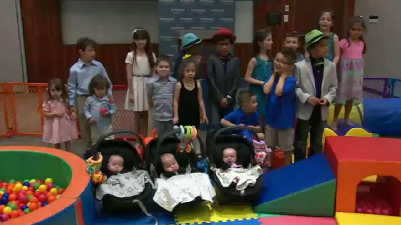 Hospital hosts triplets reunion in celebration of