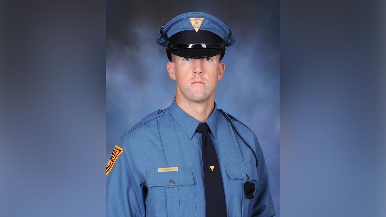 New Jersey state trooper killed in motor vehicle crash