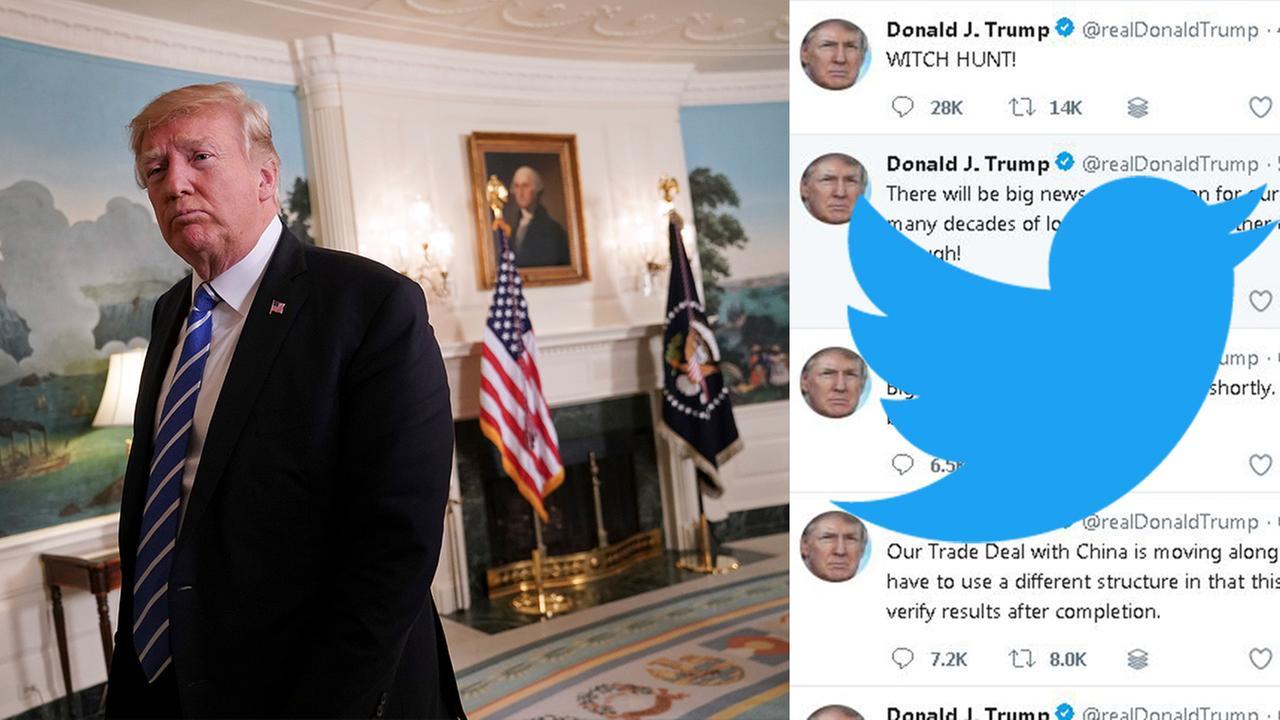 president trump twitter