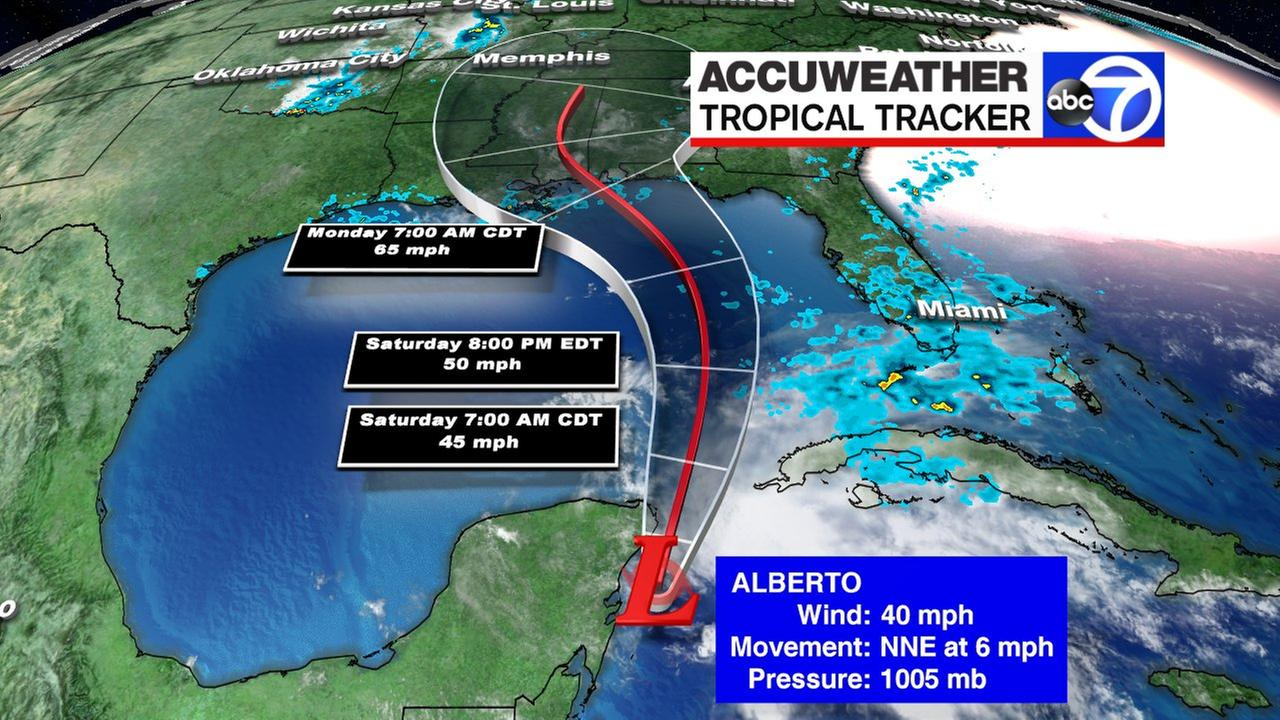 alberto tropical weather