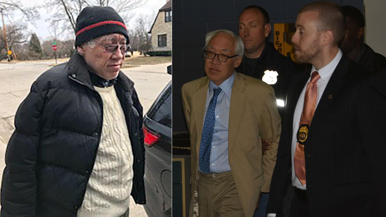 Dr. Choy in Wisconsin  after being extradited back to New York City