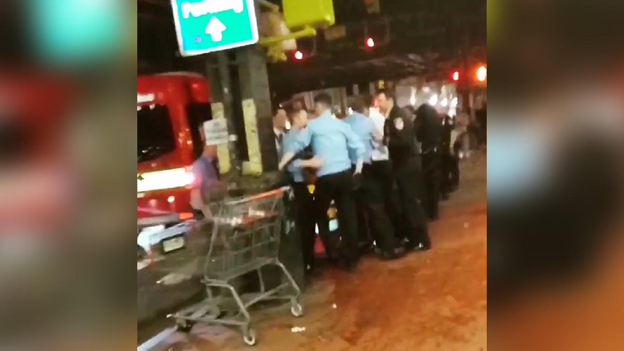 FDNY investigating 'disturbing' video of uniformed firefighters fighting in the Bronx