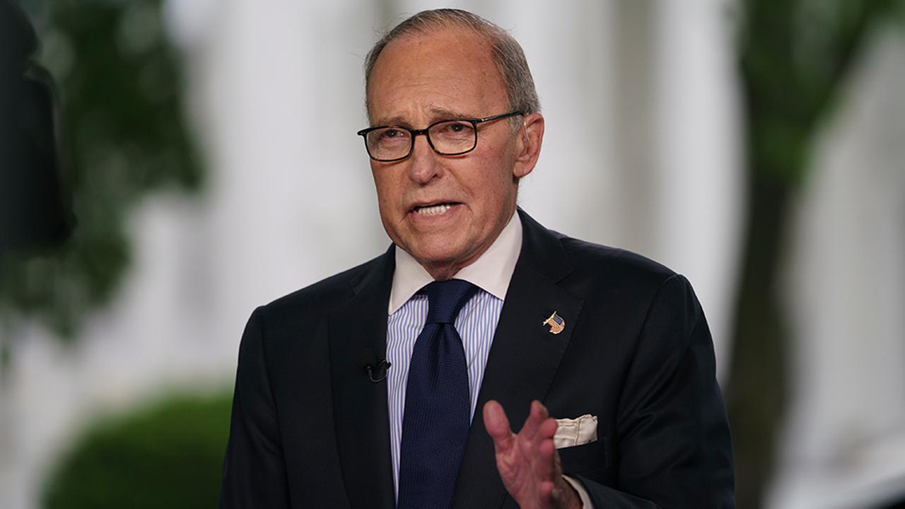 Trump says Larry Kudlow suffers a heart attack