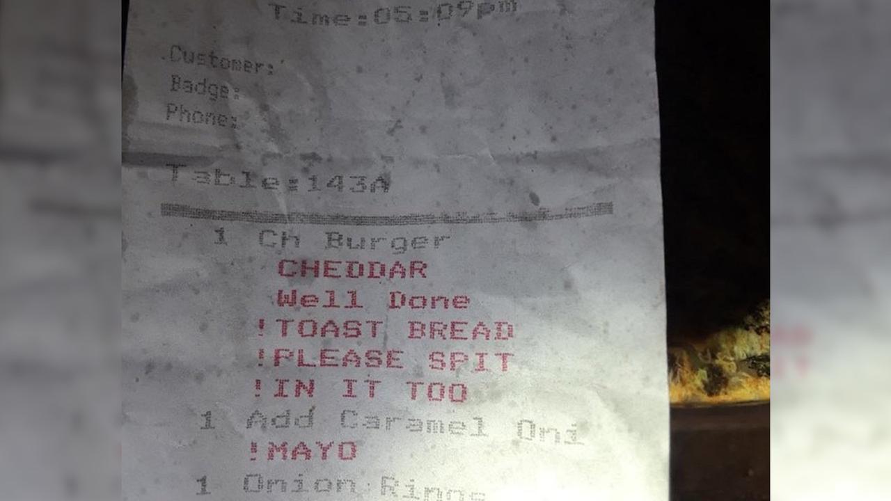 Please spit in customer's burger, NYC restaurant order secretly tells cook | abc7.com