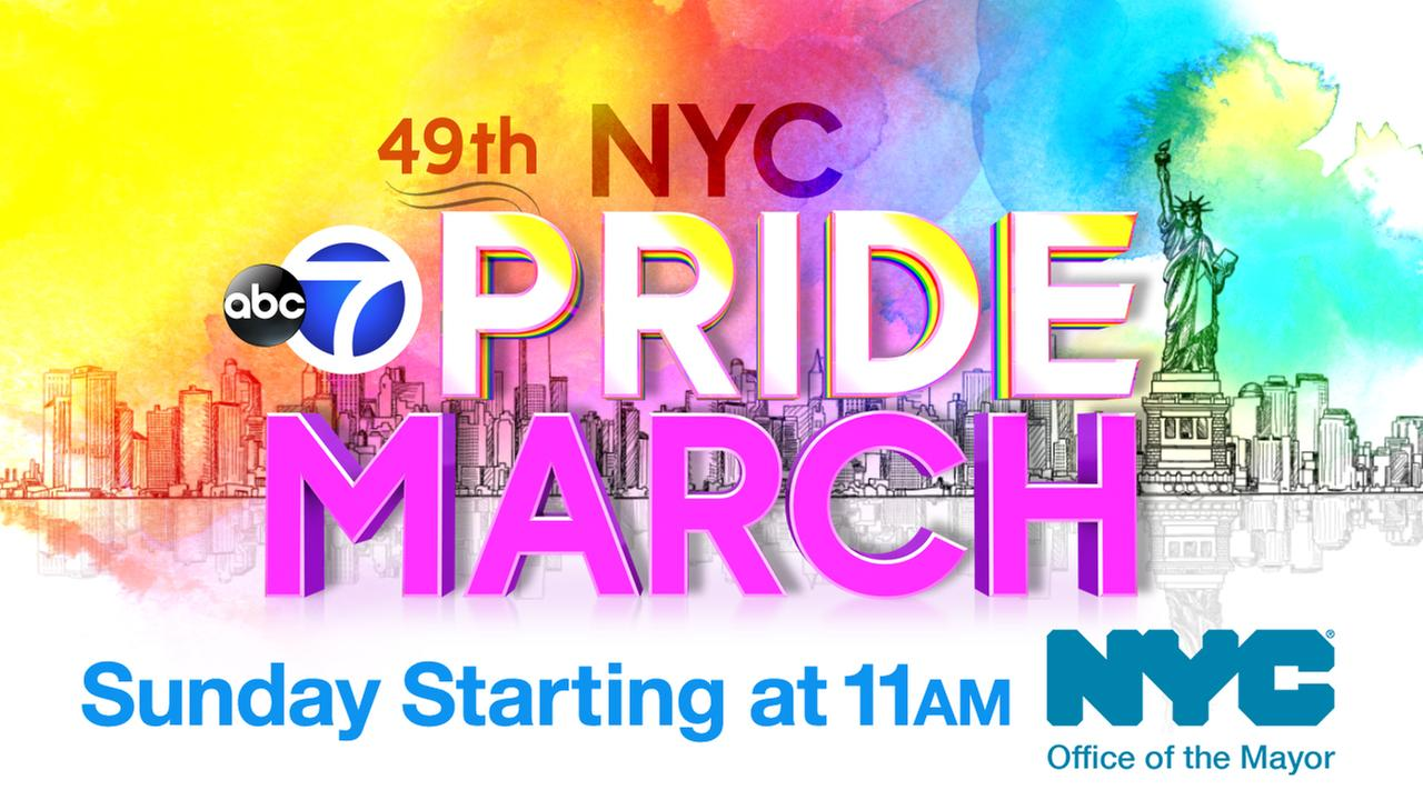 2018 NYC Pride March: Watch it Sunday!