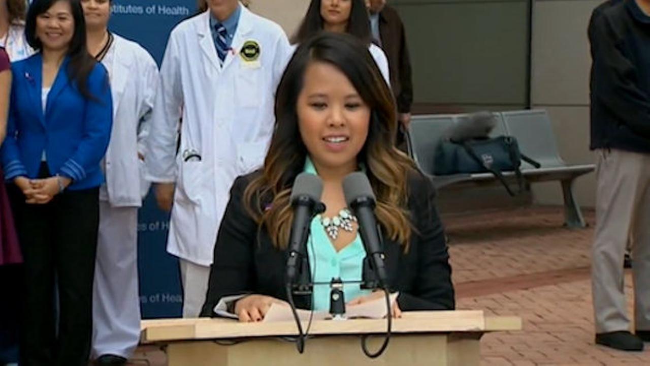 Nina pham free of ebola released from hospital 7online com