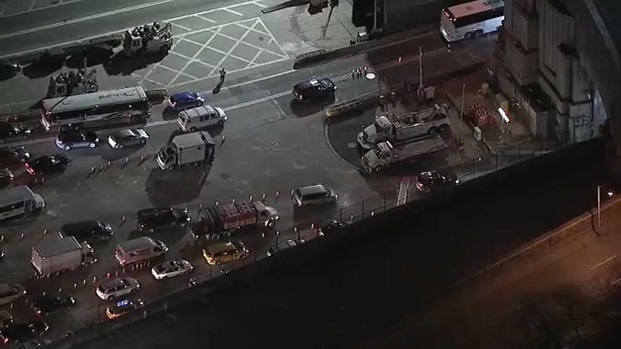 Lincoln Tunnel approach construction expected to snarl traffic