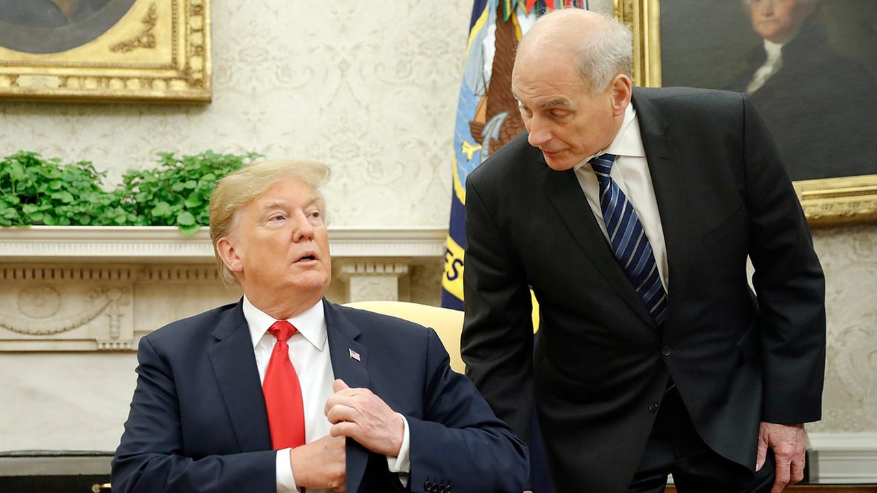 President Trump Floats Chief Of Staff Replacements Amid Shake Up
