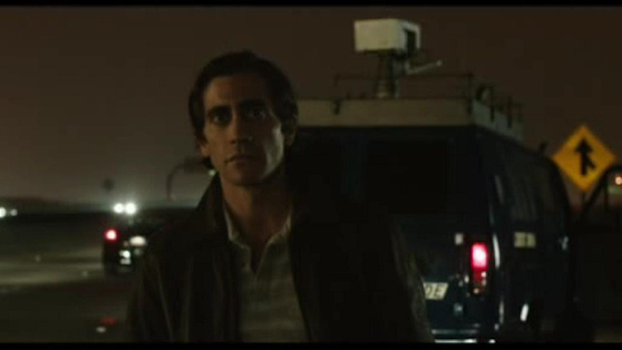 jake gylenhaal as lou bloom in nightcrawler
