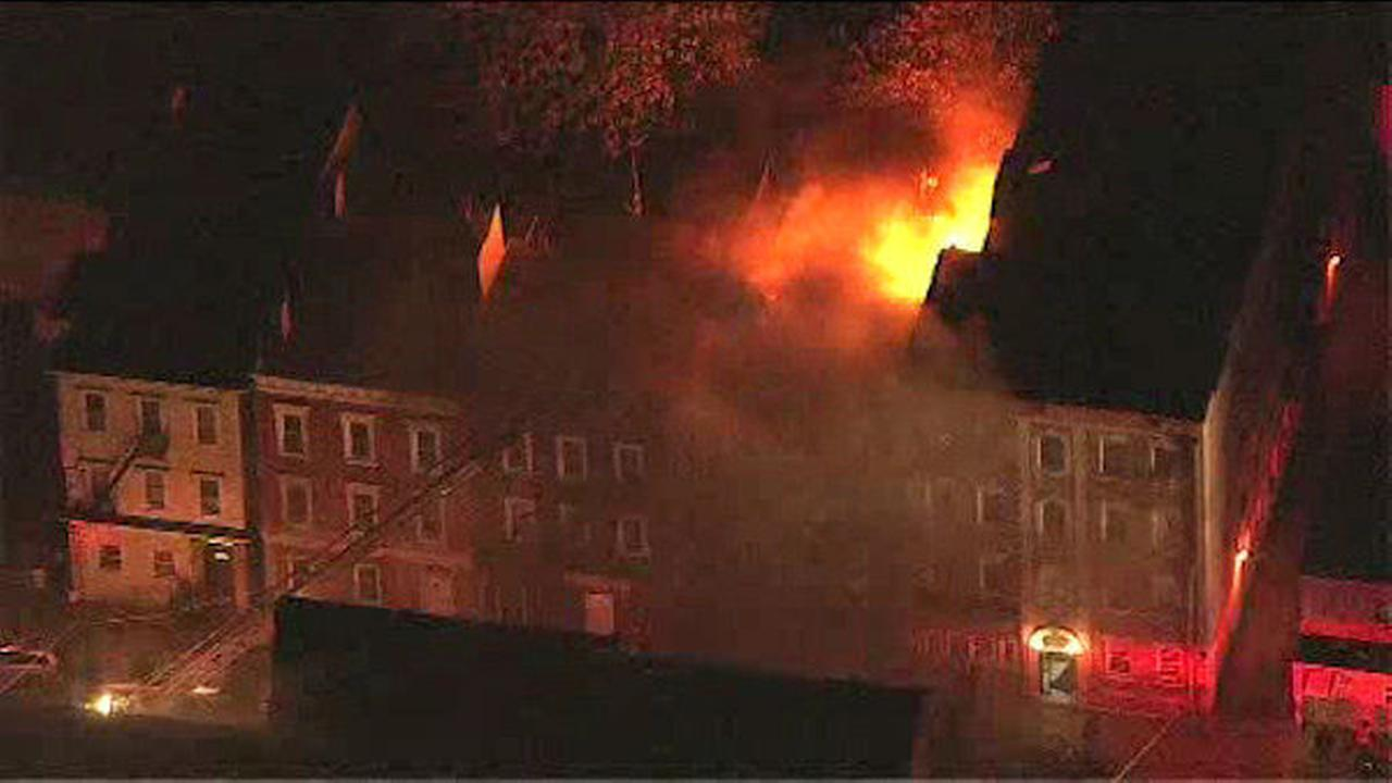PHOTOS: Three-alarm fire in Mount Vernon building