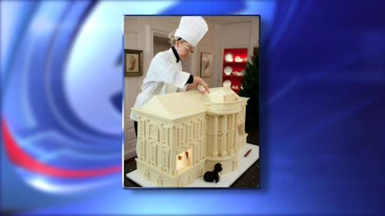 White House promotes first woman to executive pastry chef