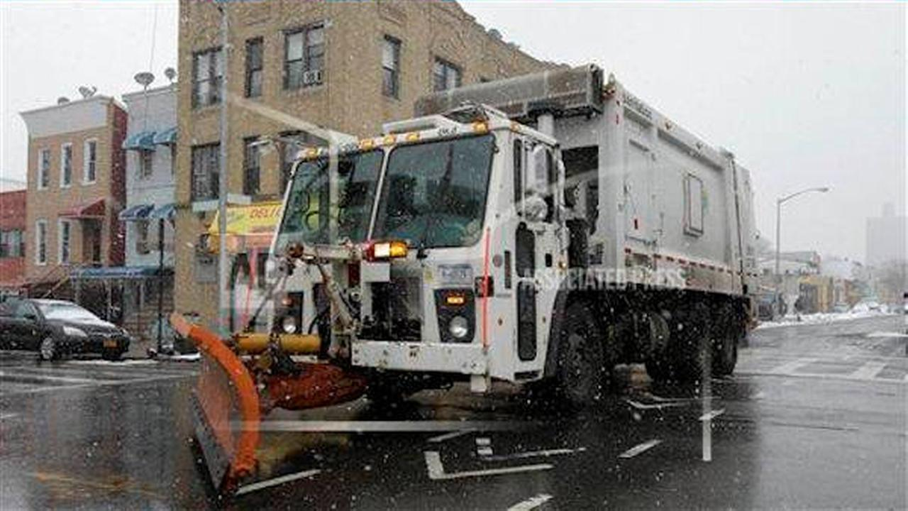 snow plow new york city