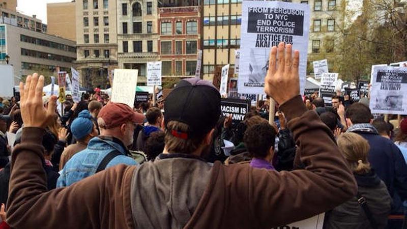 nyc ferguson protests