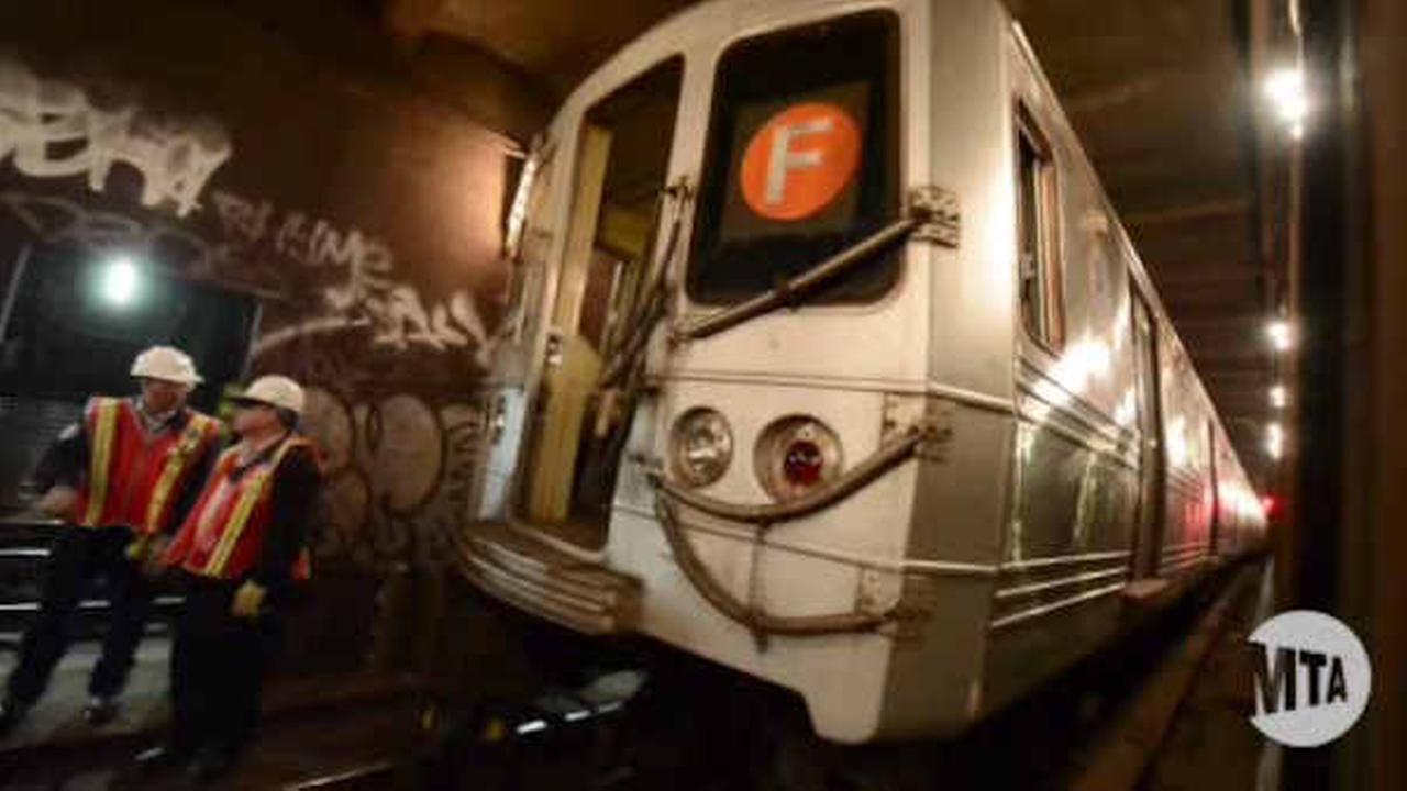 f train derailment