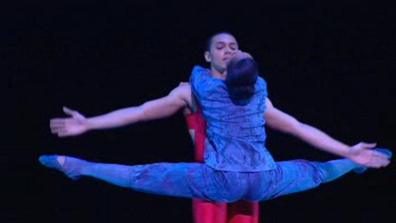 Alvin ailey dance couple