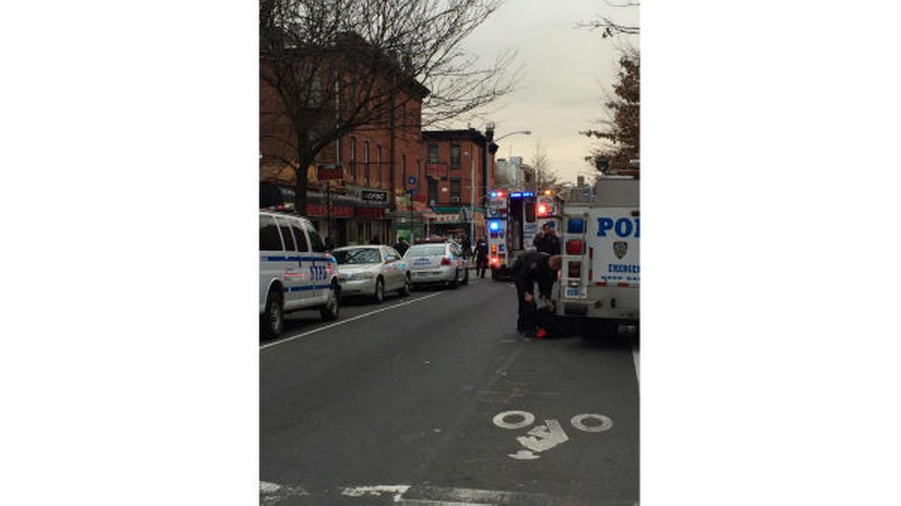 2 NYPD police officers shot