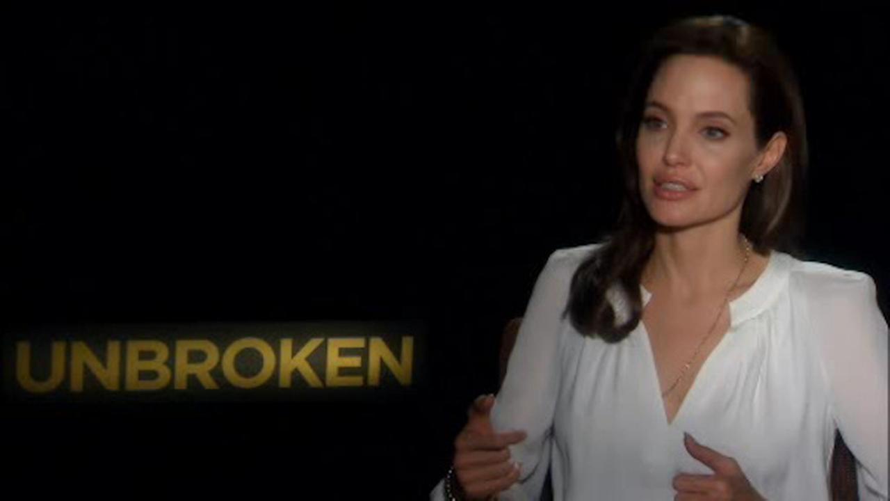 Angelina jolie unbroken interview