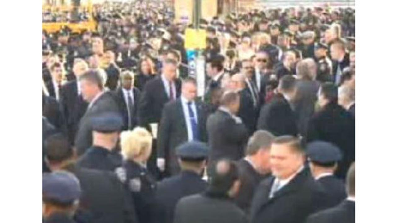 PHOTOS: Funeral for New York City Police officer Rafael RamosUngano, Brittany E.