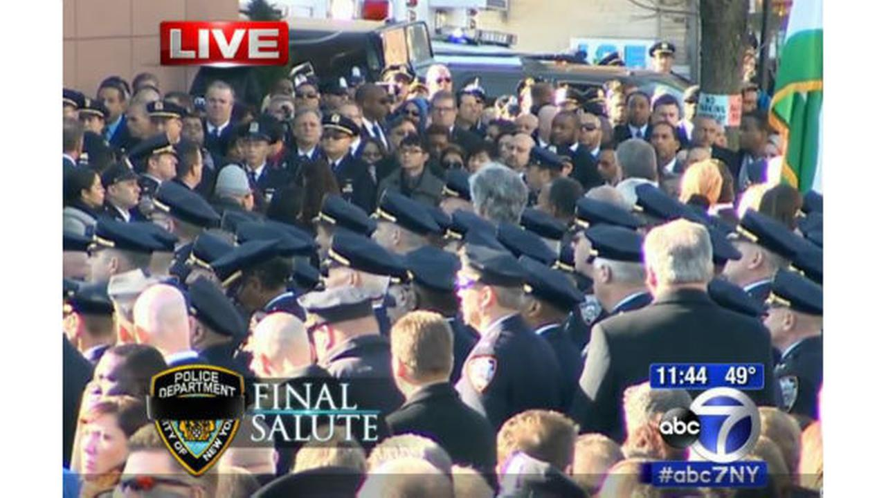 PHOTOS: Funeral for New York City Police officer Rafael Ramoswabc