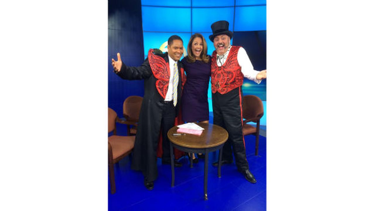 PHOTOS: The Ringmaster from Big Apple Circus