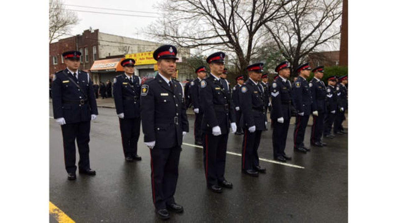 PHOTOS: Saying goodbye to NYPD Detective Wen Jian Liuwabc