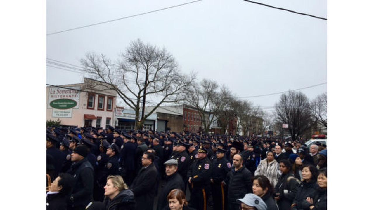 PHOTOS: Saying goodbye to NYPD Detective Wen Jian Liuwabc