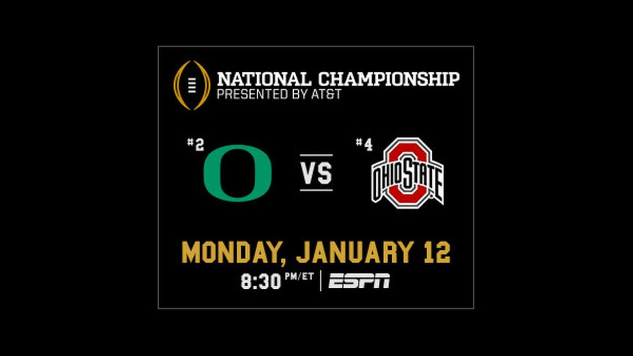 college football games today espn college football national championship