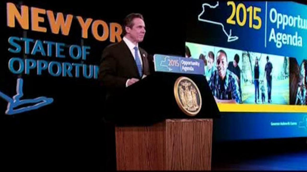 governor andrew cuomo, state of the state, police, community, relations