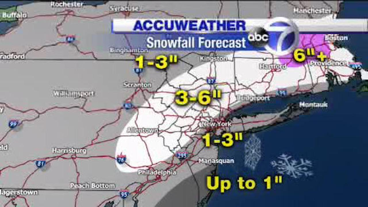 accuweather snow forecast