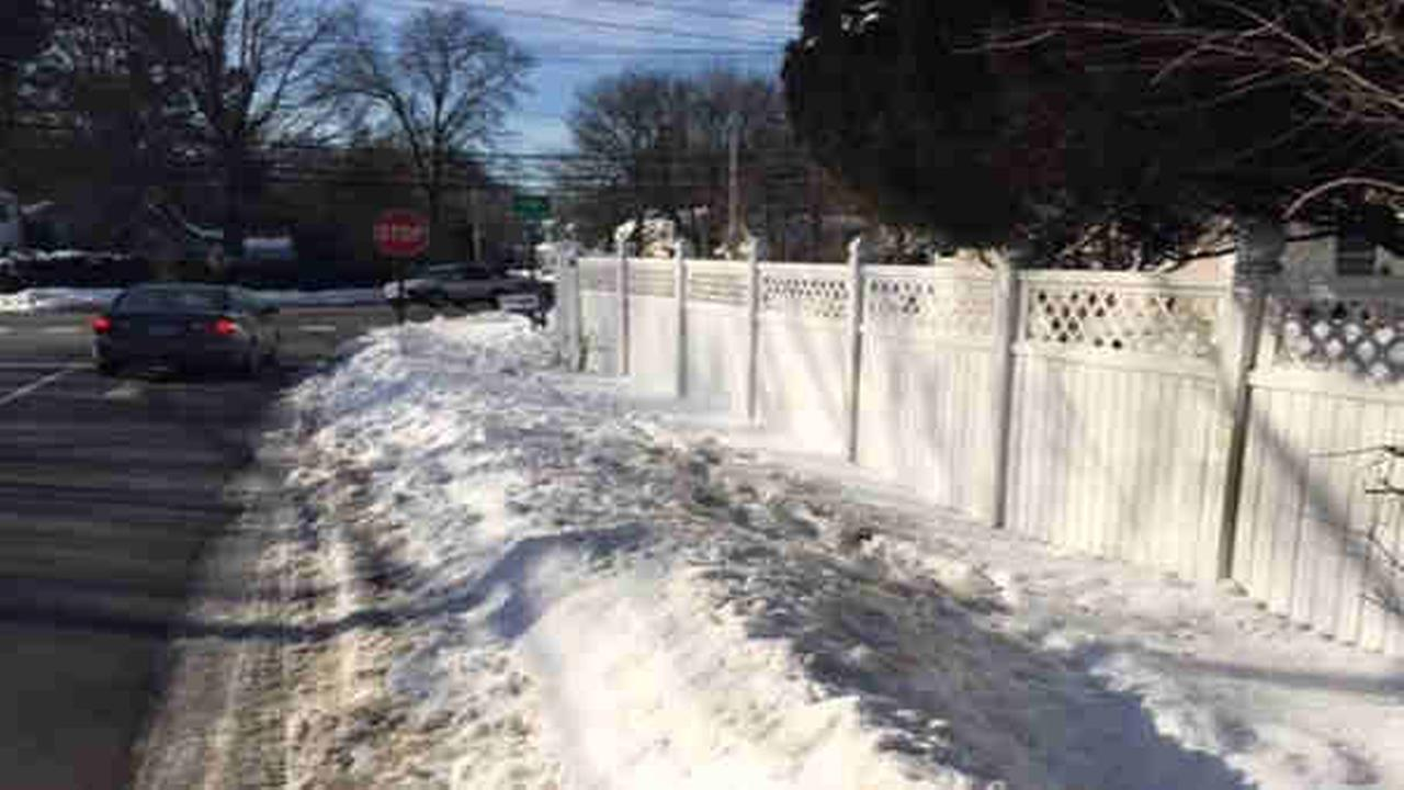 Fairfield teen struck by car, breaks hip; Homeowner fined for not clearing snow