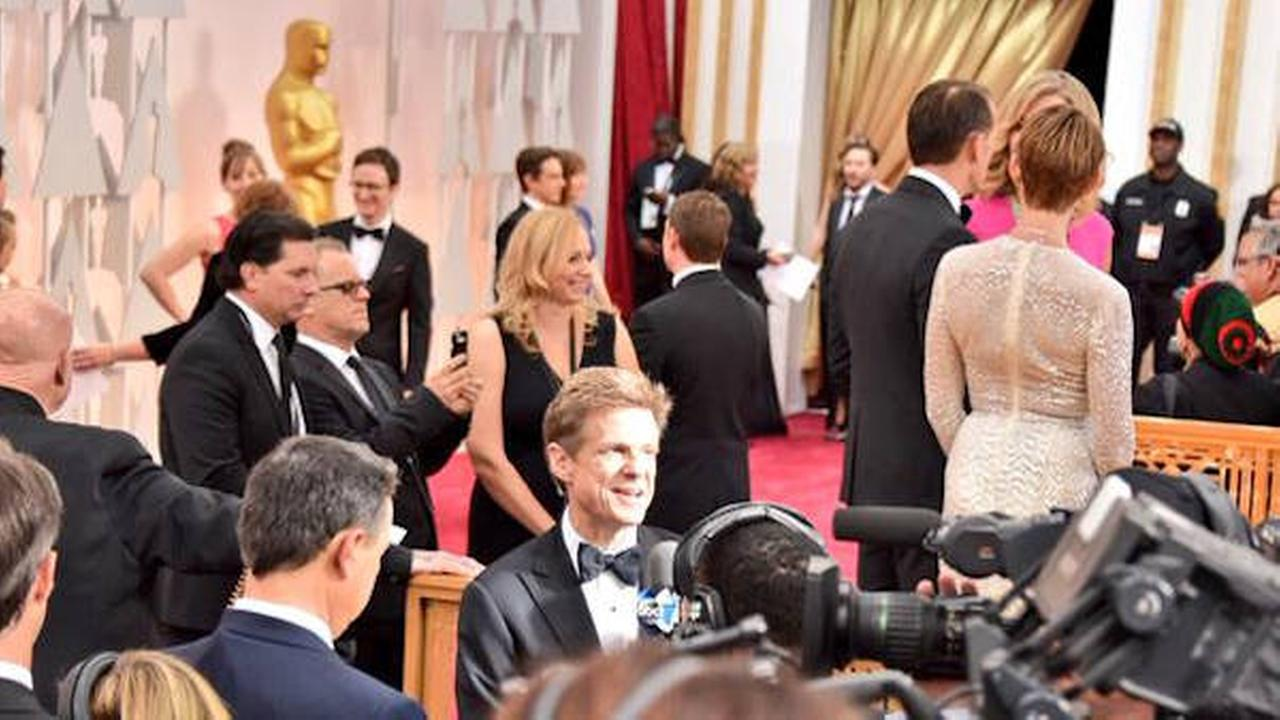 sandy kenyon oscars red carpet