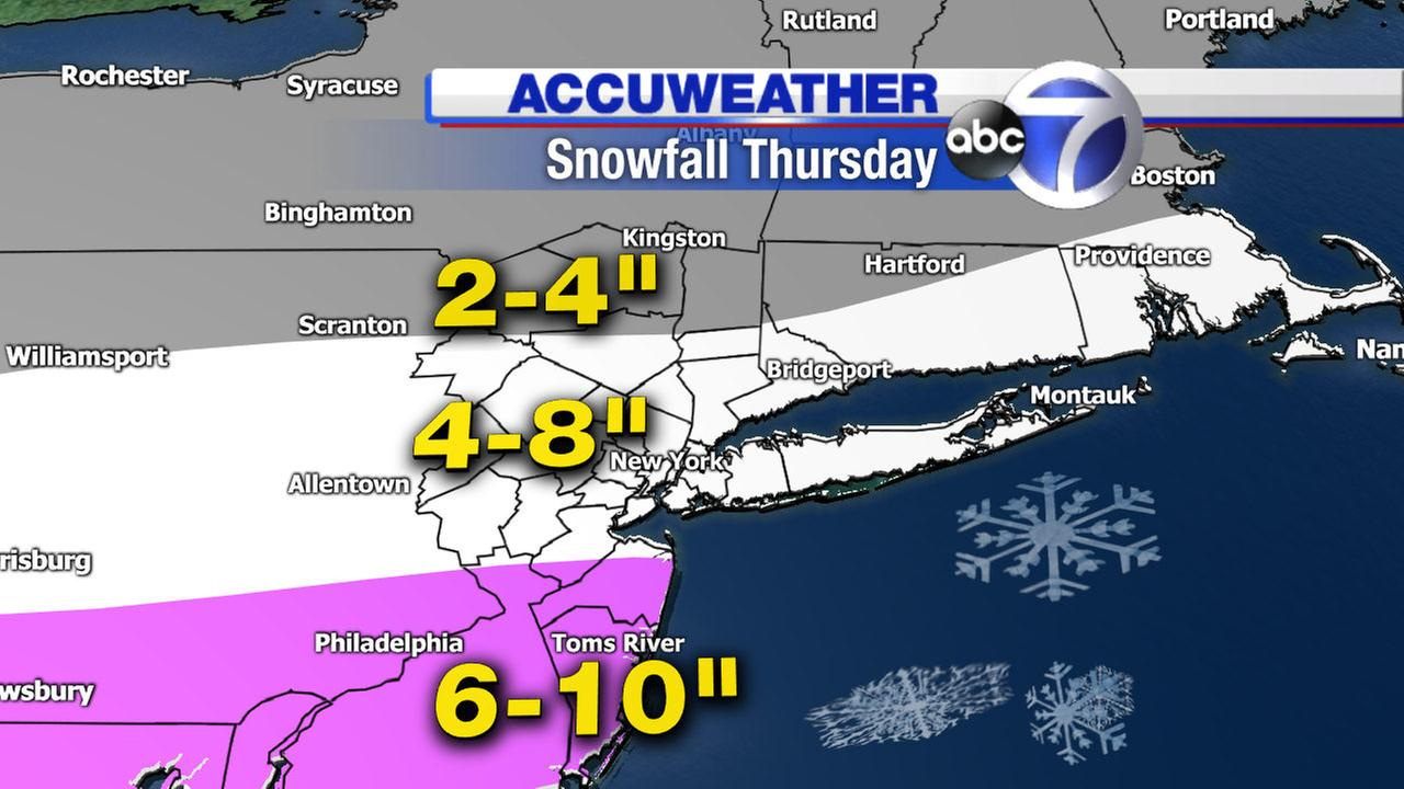 snowfall totals accuweather forecast